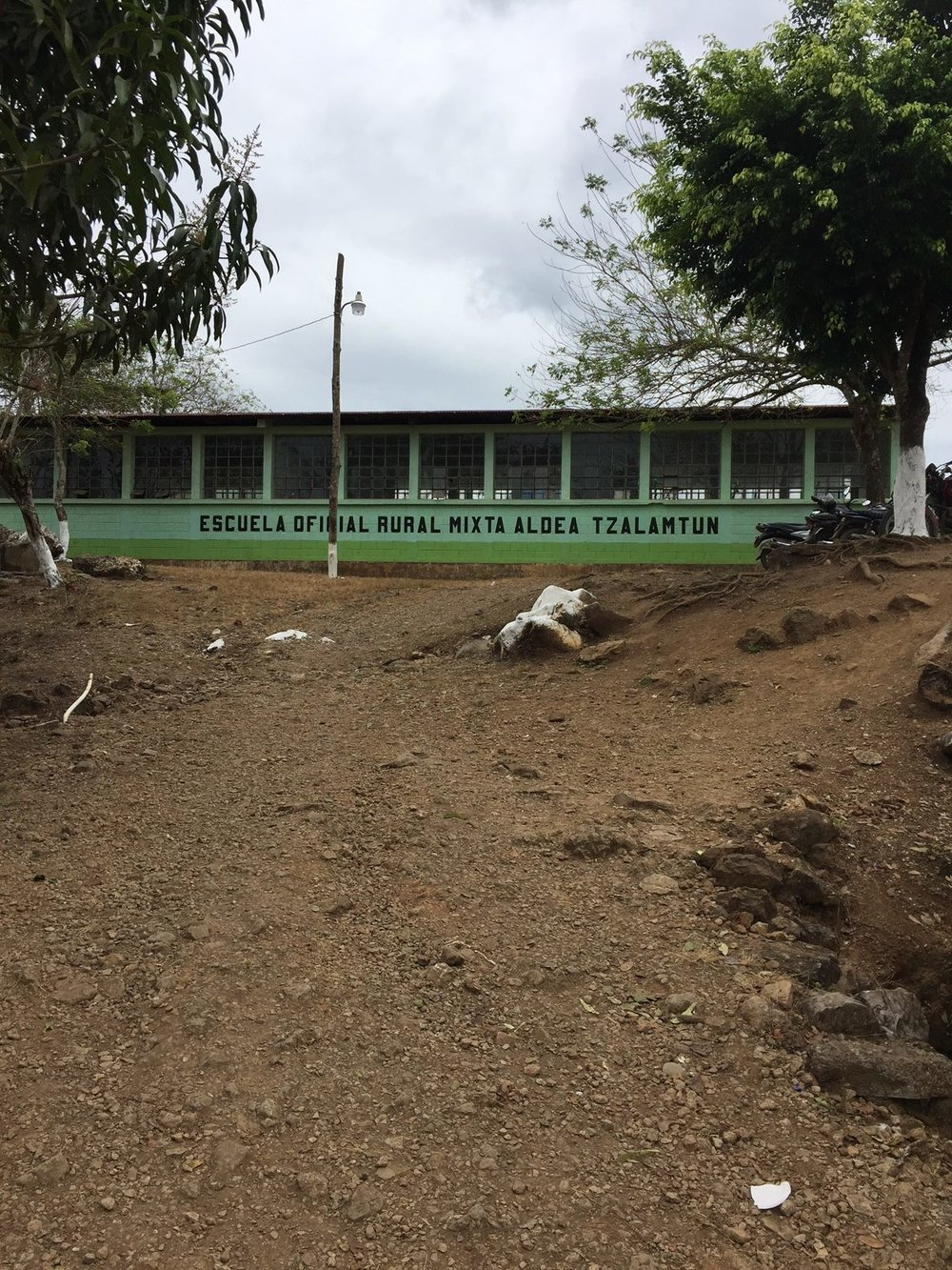 elementary school where the association's health clinics will be set up this march 2018.