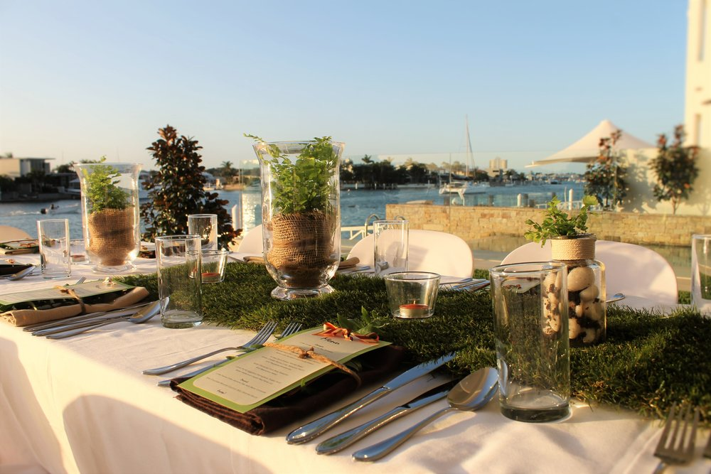 Dinner Party Event Styling Sunshine Coast