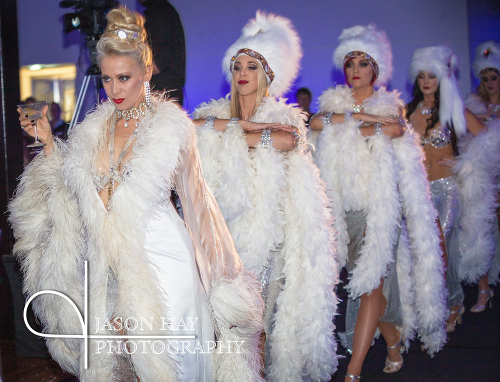 James Bond Ladies | Dancers | Steps Grand Winter Ball