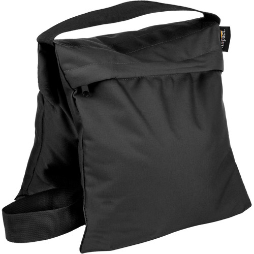 (5) Impact Saddle Sandbag (25 lb, Black)