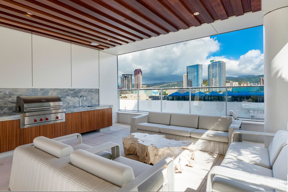 Waiea, Kakaako, Honolulu, Hawaii luxury rental