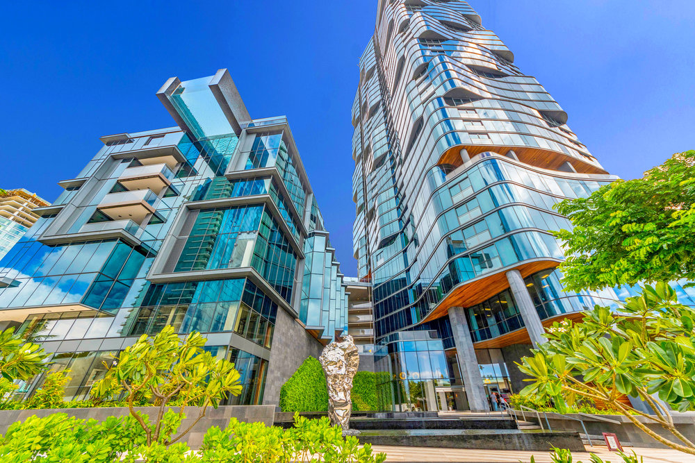 3 BDS LUXURY ON THE 28TH FLOOR / RENTED  3 BEDROOMS / 3 FULL BATHS / 1,948 sq. ft.