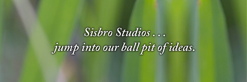 Sisbro Studios ... jump into our ball pit of ideas.