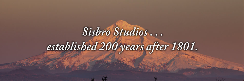 Sisbro Studios ... established 200 years after 1801.