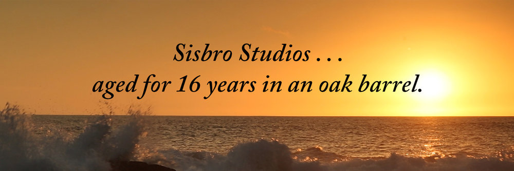 Sisbro Studios ... aged for 16 years in an oak barrel.