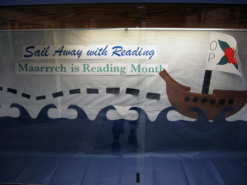 Marrrrrch is Reading Month