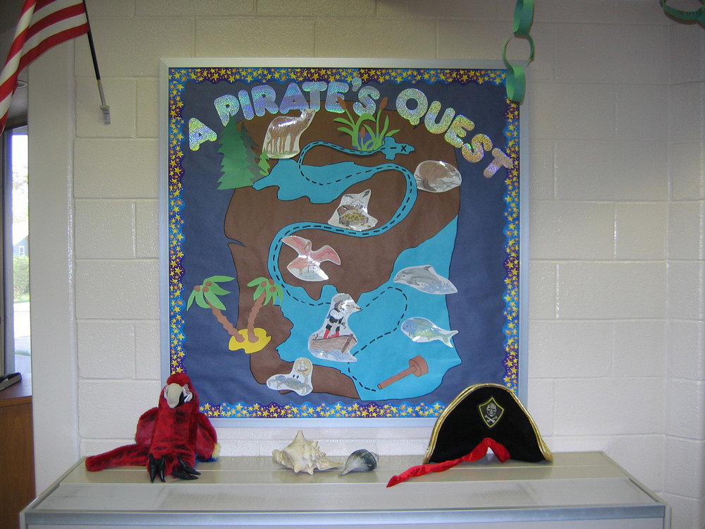 A Pirate's Quest Bulletin Board