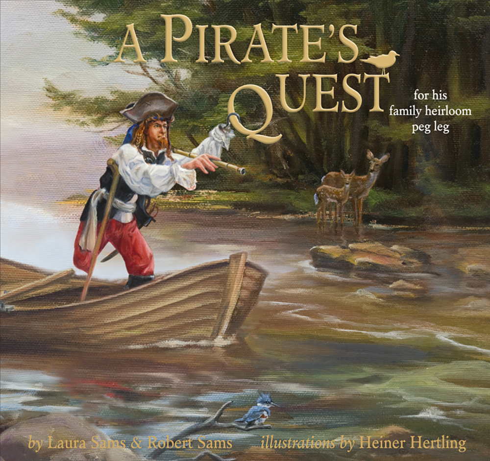 A Pirates Quest Children's Book