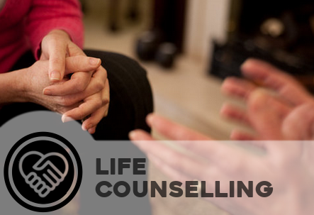 Life counselling - Through diet, exercise, spiritual practice and active communal support the individual discovers a renewed sense of self worth, meaning a purpose in their lives.