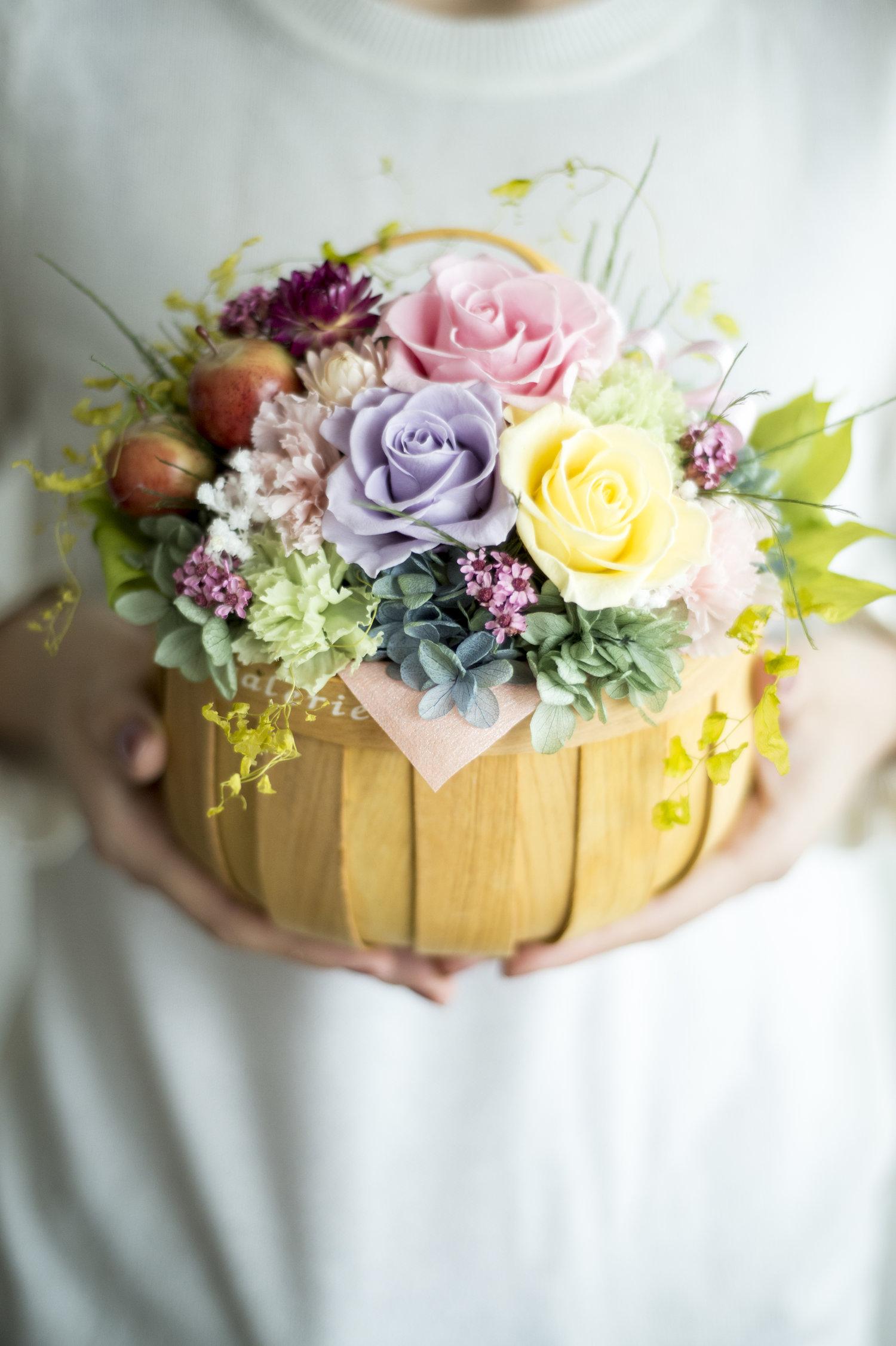 Eardley spring gift of preserved flower arrangement mothers day 2018g izmirmasajfo