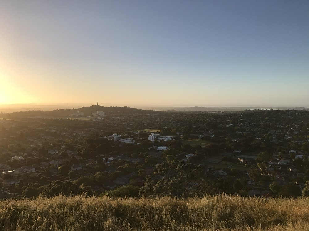 One of the many glorious views from the summit of Mount Eden. Shot on iPhone 7.