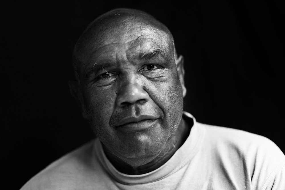"""I WAS WORKING ON THE COTTON FIELDS IN 1967 AND THAT'S WHEN I MET MY MOTHER. I WAS THE WATER BOY. IT WAS HOT AND THERE WERE WOMEN EVERYWHERE. I ASKED IF THEY KNEW MY MOTHER AND THEY SAID 'SHE'S OVER THERE!' WE HUGGED AND BOTH OF US CRIED A BIT. SHE COOKED ME TEA THAT NIGHT."" - WALLY"