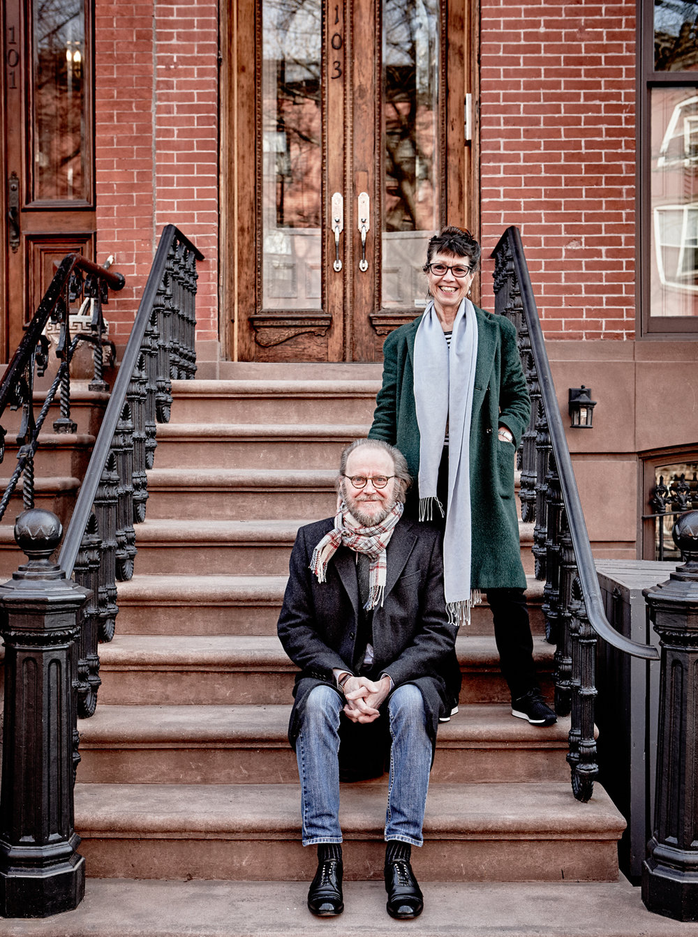Kjell Torriset & wife Judith, Brooklyn 2017