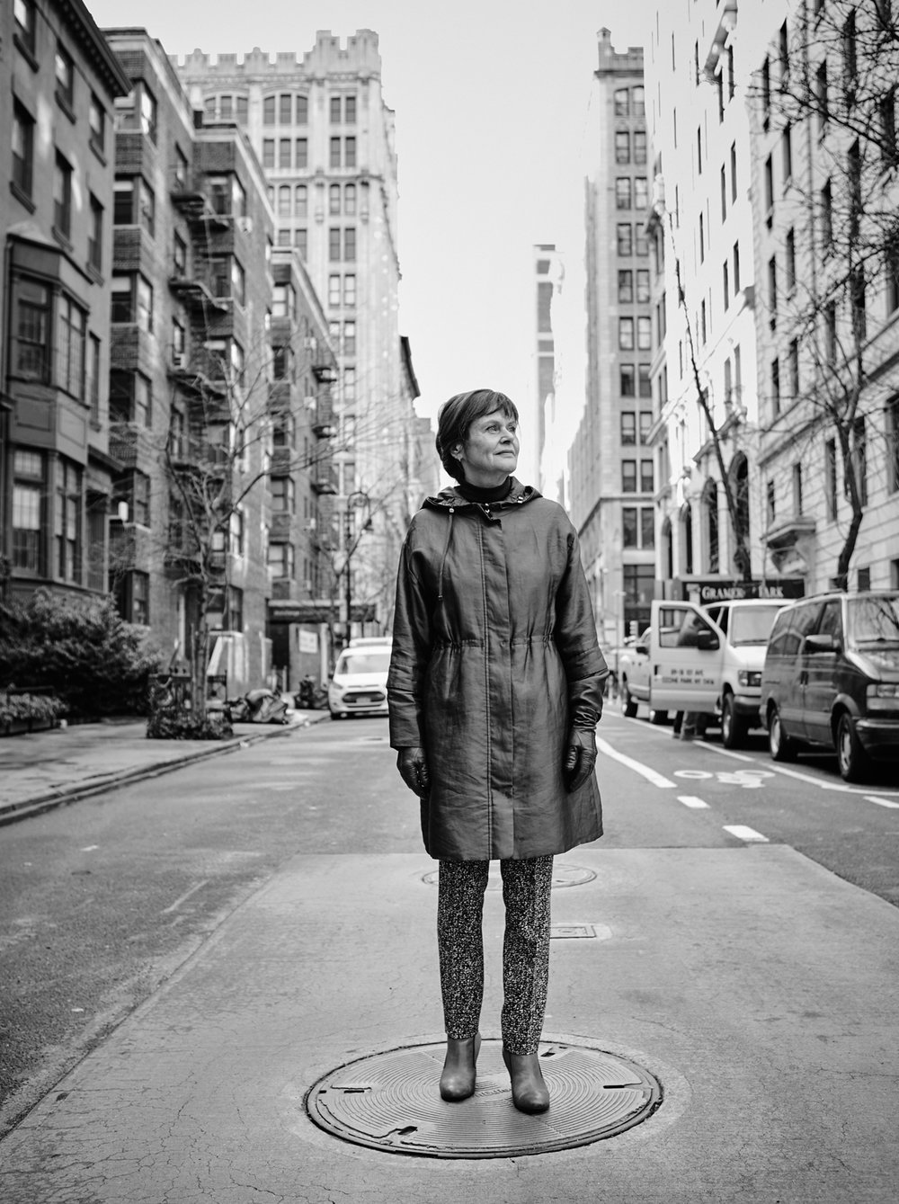 Unn Magnussen, Gramercy Park, New York 2017