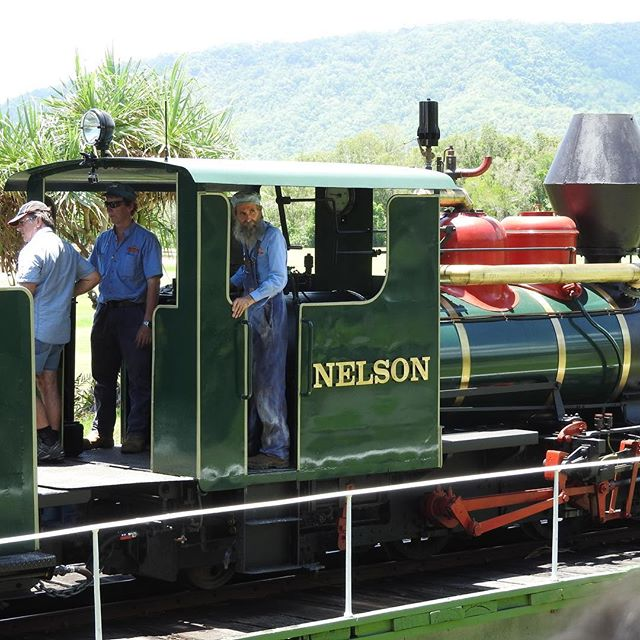 The glorious Nelson! 🚂💨🌴