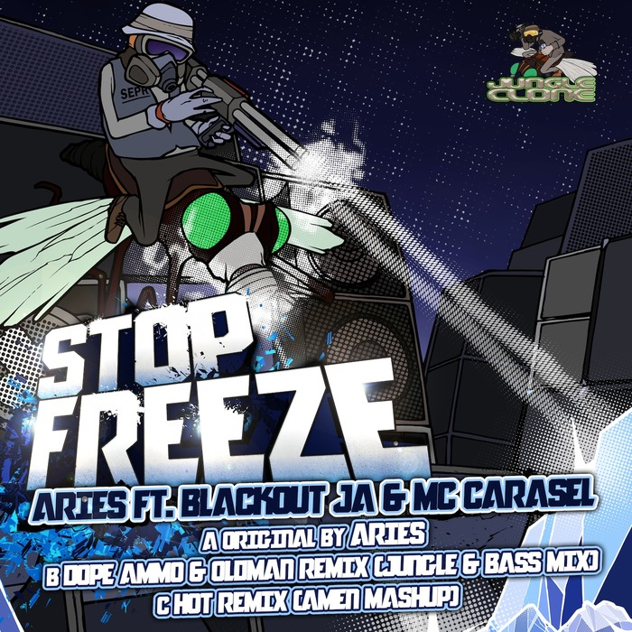 Aries ft. Blackout JA & Carasel Stop Freeze - Original Mix - Dope Ammo & Oldman Remix - HoT Remix JCR004