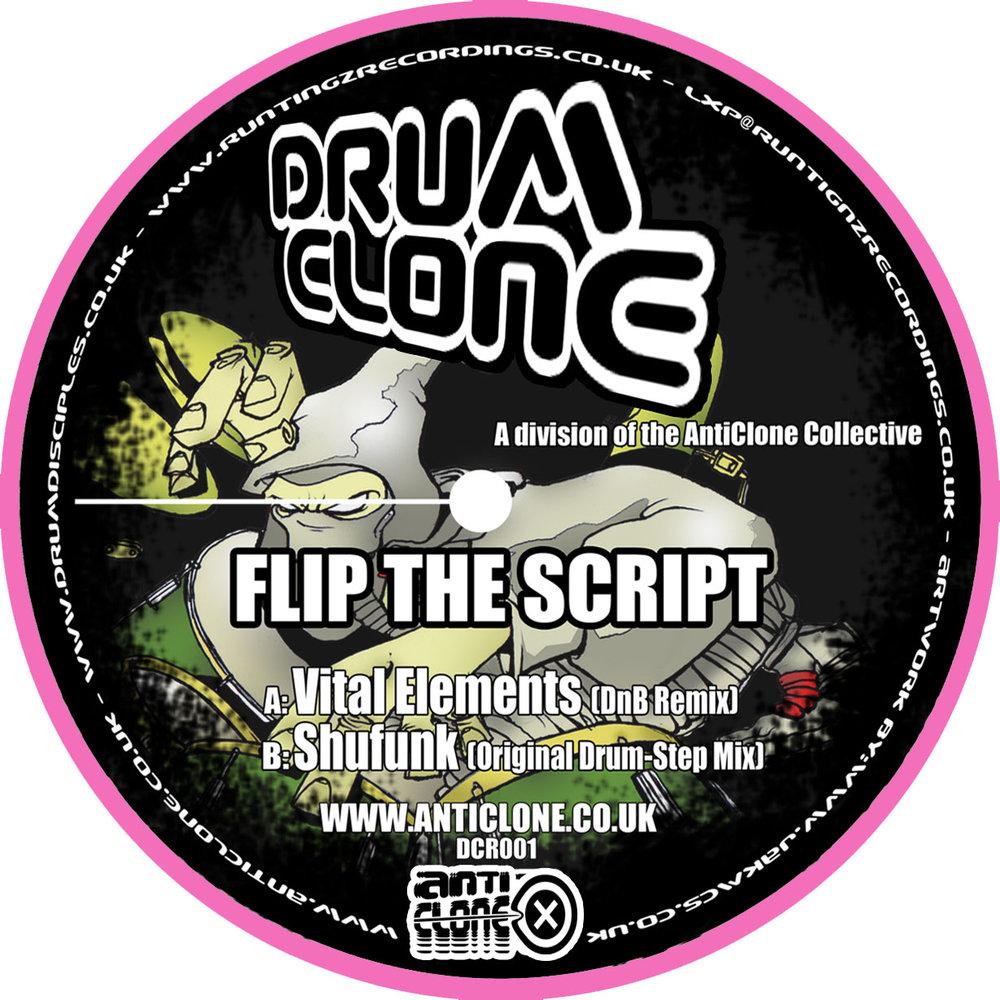 Shufunk - Flip The Script (Vital Elements Remix) - Flip The Script (Original Mix) DCR001