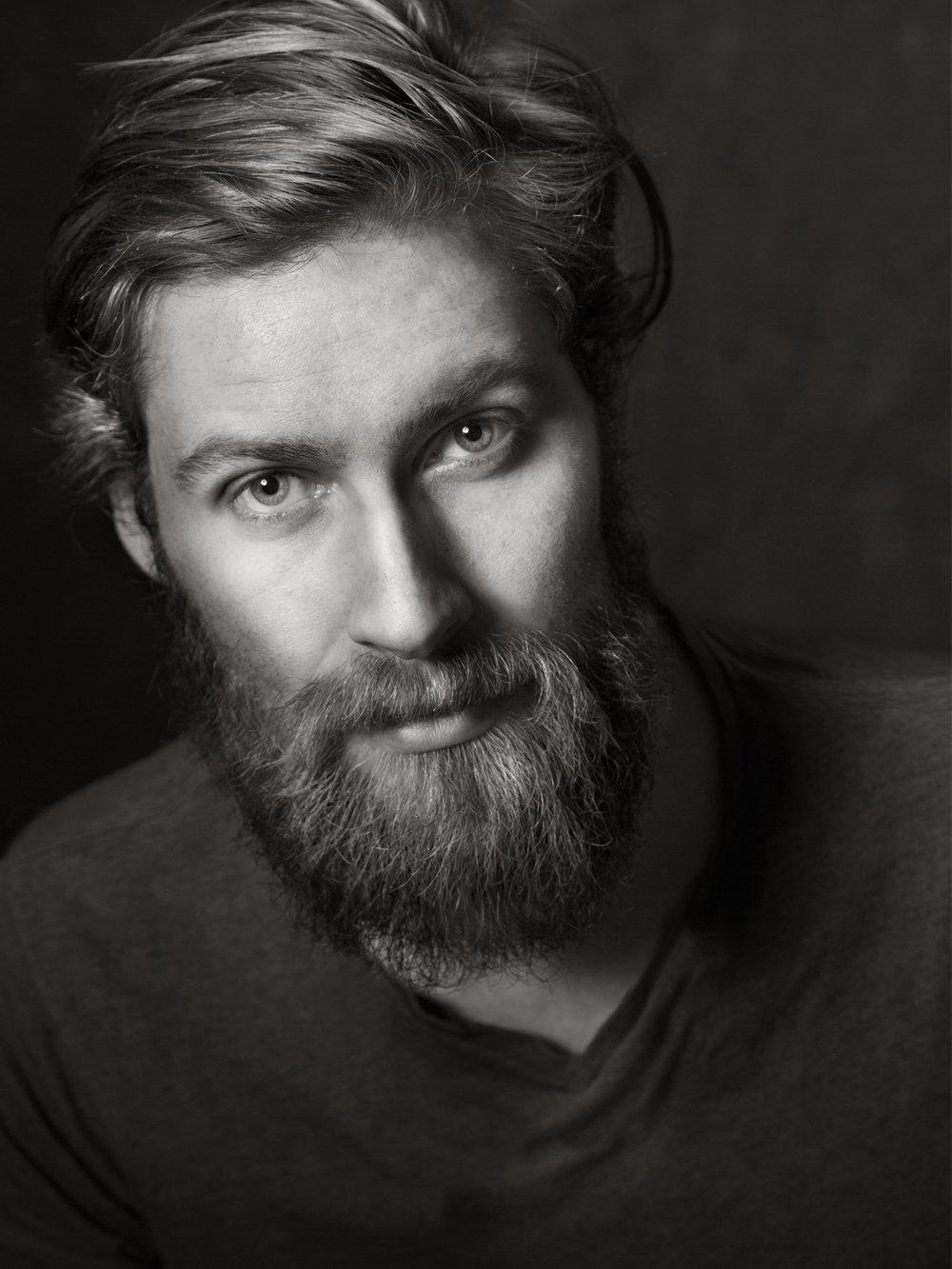 Portrett av Simen Solli Schøien