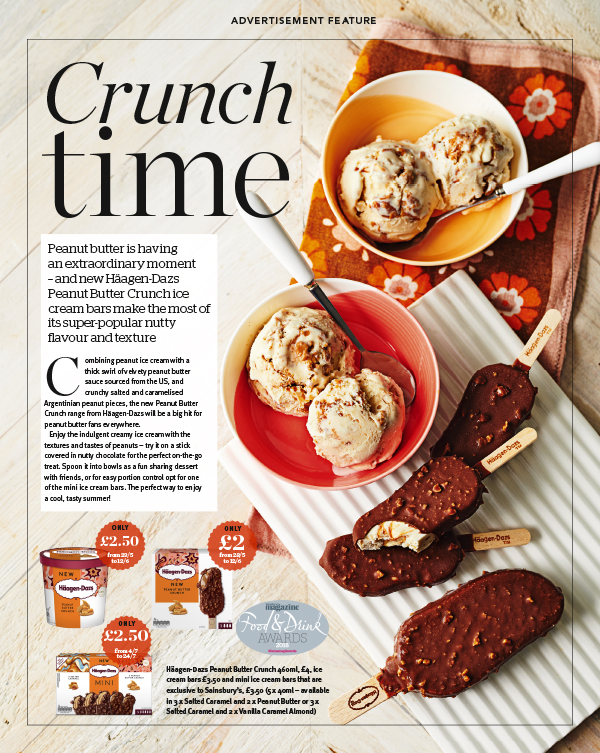 Publication: Sainsbury's magazine, June 2018  Photographer: Mike Hart  Art Direction and props styling: Sainsbury's advertorial/commercial team