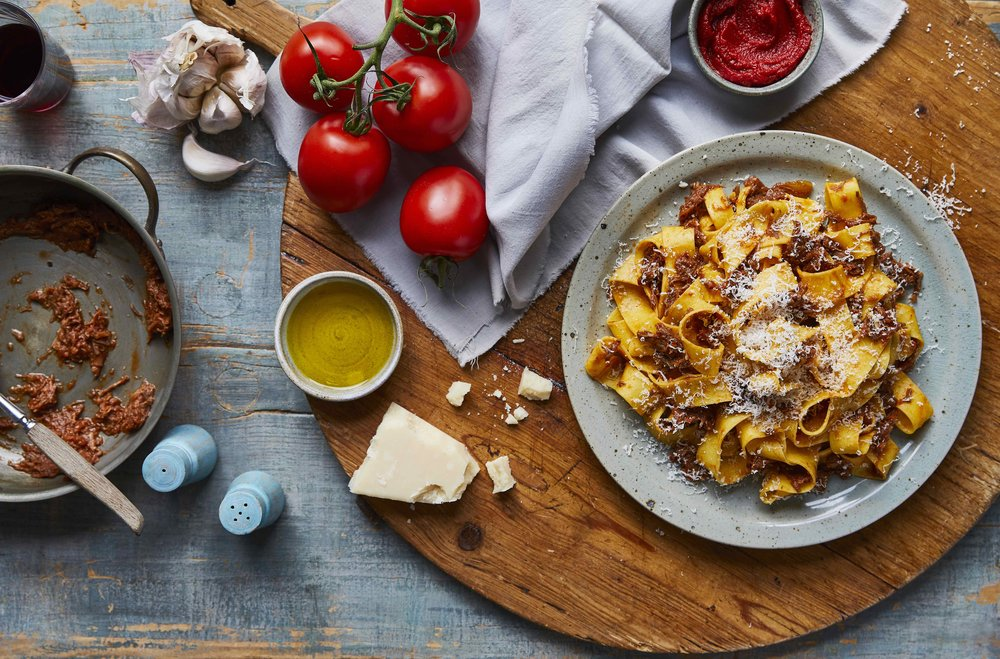 Client & Product: Pasta Evangelists  Photographer: Tim Atkins