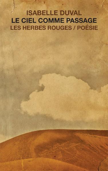 Le ciel comme passage     Isabelle duval , 2014
