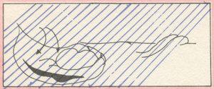 Illustrations tirées de  Sauterelle dans jouet  suivi de  Pour une sauterelle il est capable ,de Marcel Hébert (nouvelle édition, les herbes rouges , n°5, juillet 1979), par Gisèle Poupart.