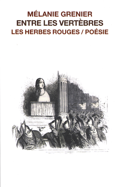 Entre les vertèbres     Mélanie Grenier , 2004