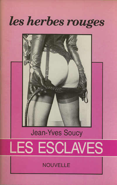Les esclaves, nouvelle, Les herbes rouges, n° 158, 1987