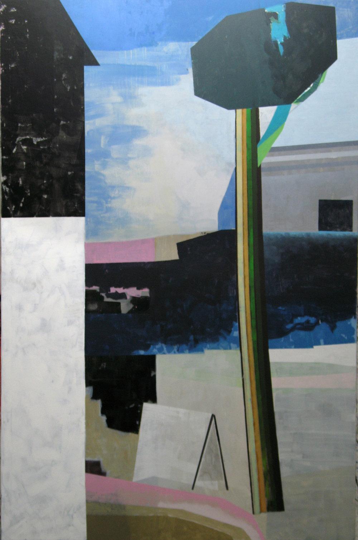 PINO SUL MARE 2016, Acryl auf Leinwand, 220 x 145 cm