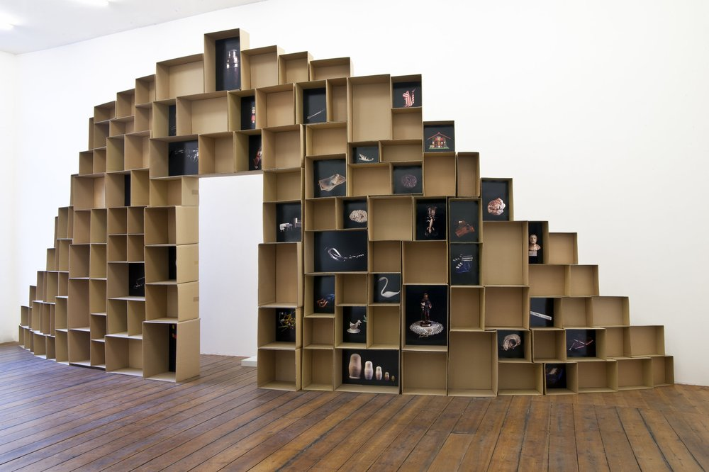 Abb.: Carina Linge, Wunderkammer, 2018