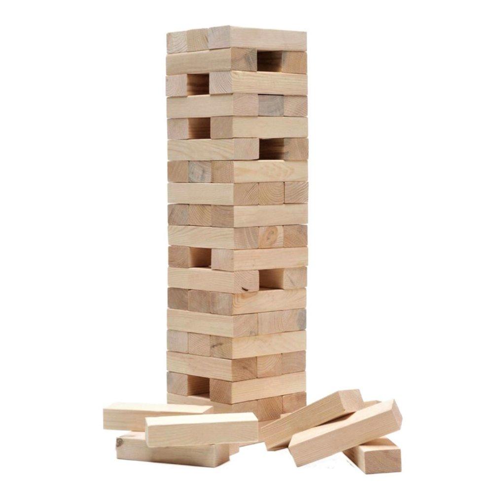 GIANT JENGA / HI TOWER  58 blocks (28.5cm each in length), supplied in storage bag