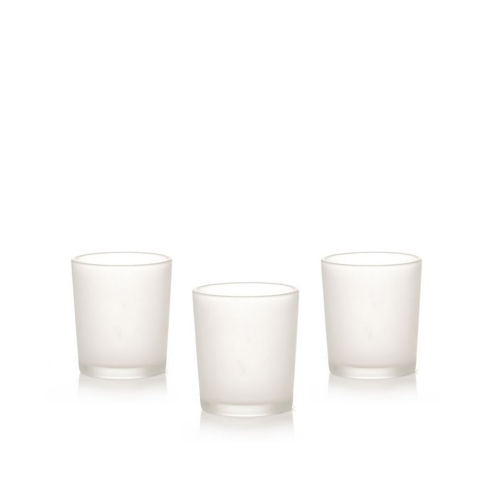 FROSTED GLASS VOTIVES