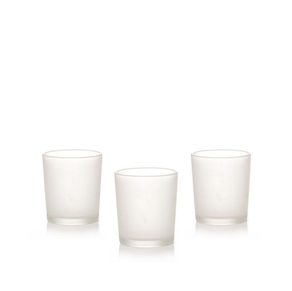 FROSTED GLASS VOTIVES