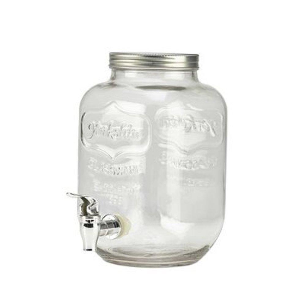 GLASS PUNCH BARRELS  8 litre capacity