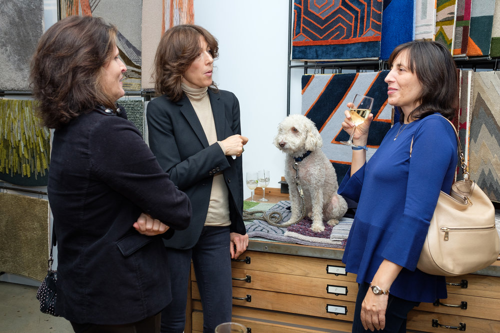 Heidi James (Studio LXIV), Heidi Feiwel (Luxemark), Alfie the Most Wonderfully Behaved Dog, Grazia Ambrozini