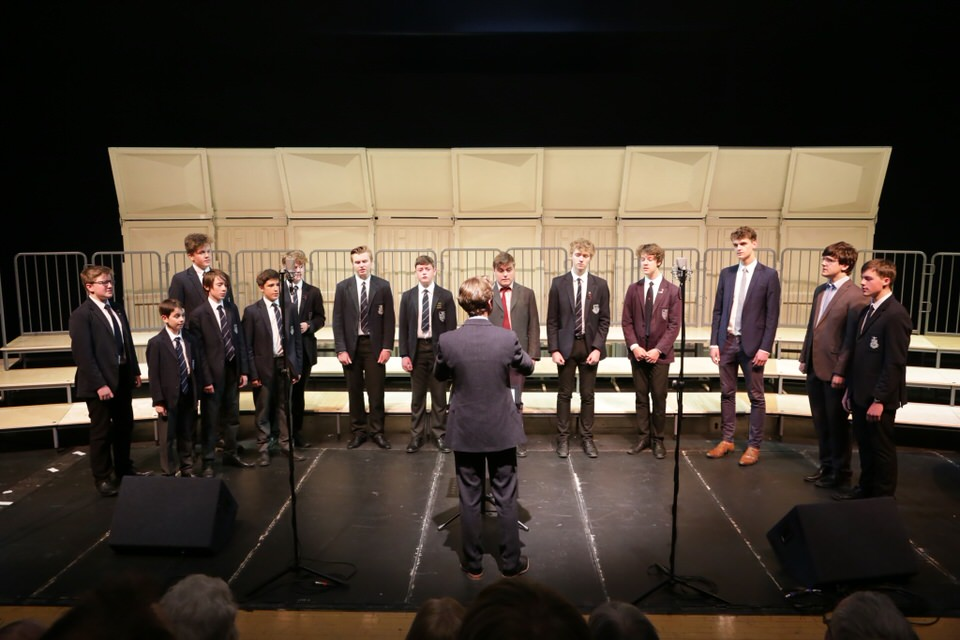 Truro School Barbershop, conducted by Cornwall Music Service Trust's Head of Service - Gareth Churcher,  were voted Best International Youth Choir 2017 – photo Ian Griffiths