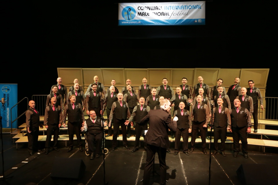 Overall Festival Winners 2017 – the South Wales Gay Men's Chorus – photo Ian Griffiths
