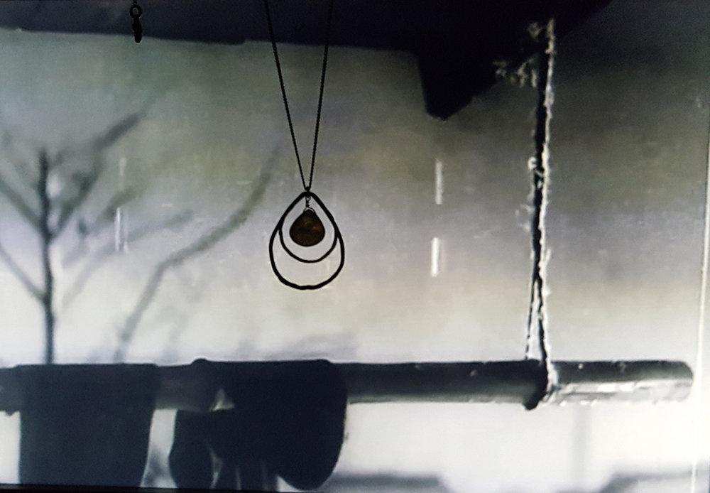 Collier goutte de Pluie,  un   merveilleux   dimanche   Akira   Kurosawa, inspirations, design bijou.