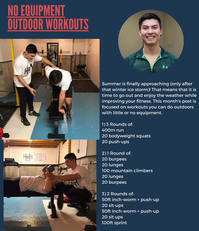 Richmond Hill Gym — No Equipment Outdoor Workouts