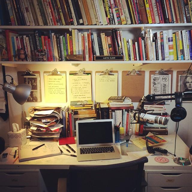 Biroul autorului. Ceva special.