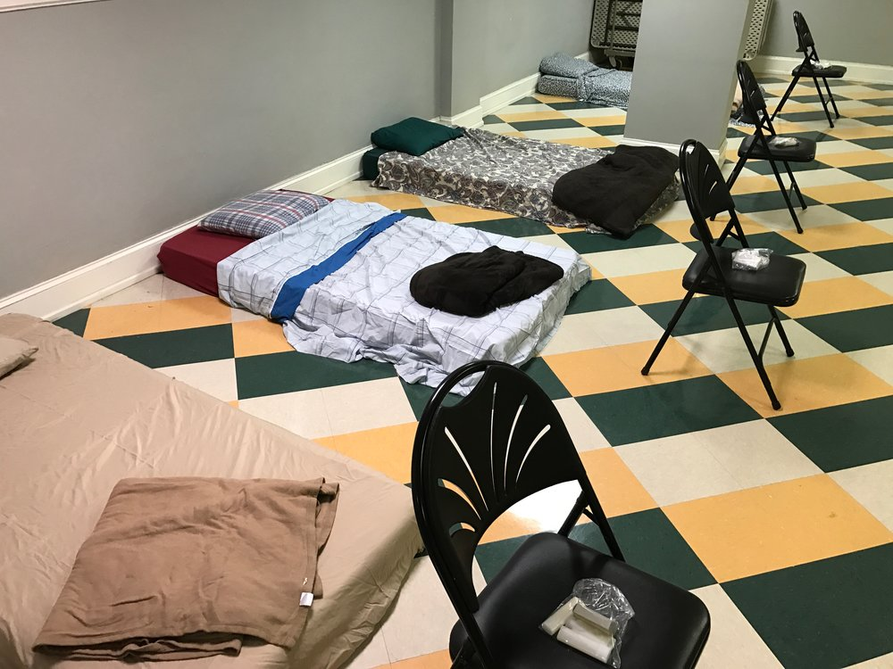 Room In The Inn gives shelter during the winter months for our neighbors without homes.