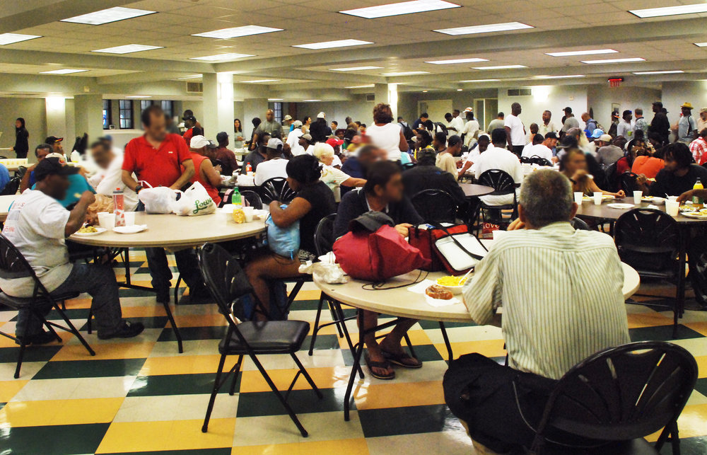 Every Sunday morning, the Muffin Ministry provides a hearty breakfast for 150 to 200 neighbors from the community.