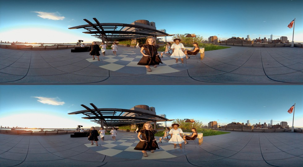 Stereoscopic Over:Under. Image from Mettle.com blog post featuring 360˚ TRESemme production by Malka Media Group