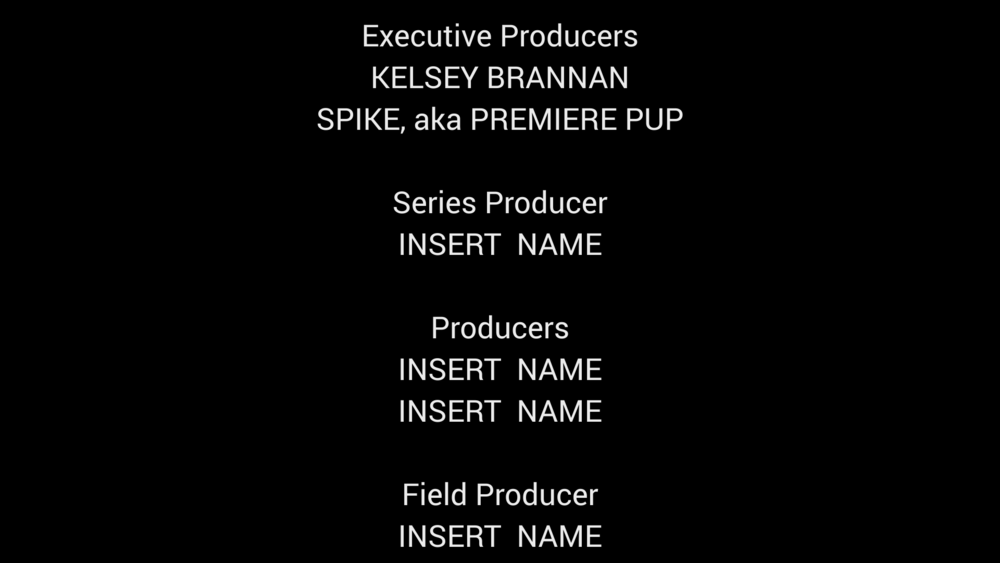 rolling credits template for after effects cc premiere gal