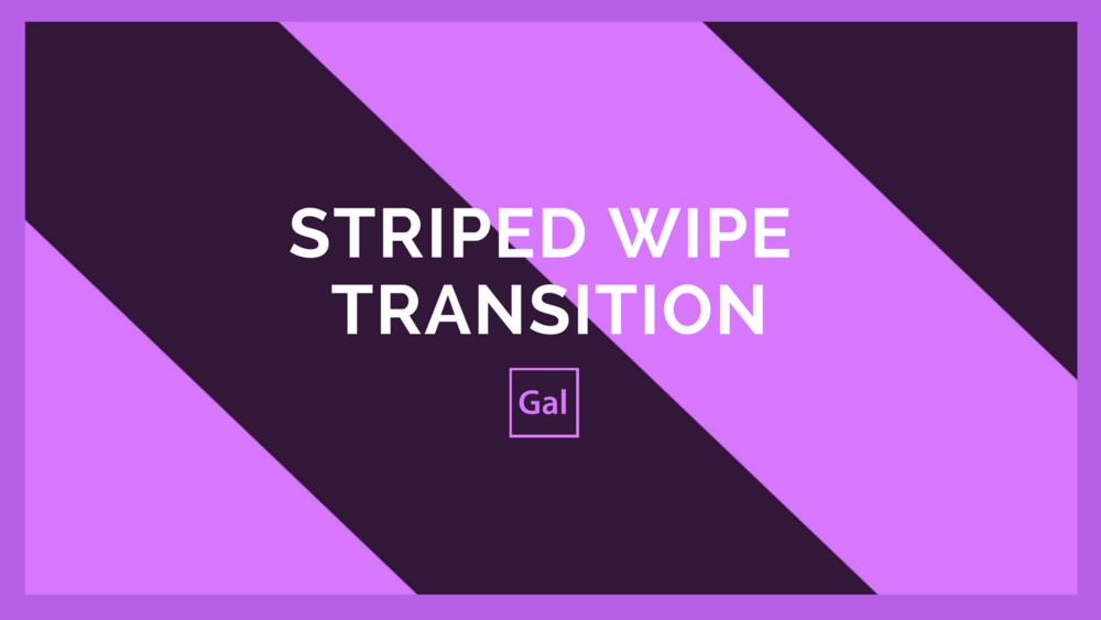 tutorial free wipe transition template premiere gal