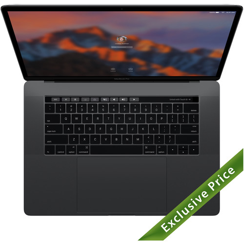 """Apple 15.4"""" MacBook Pro with Touch Bar (Late 2016, Space Gray) - Save $700 on BHPhotoVideo!"""