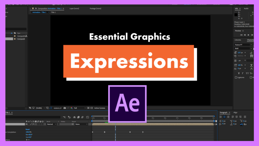 Free After Effects Course — Blog — Premiere Gal