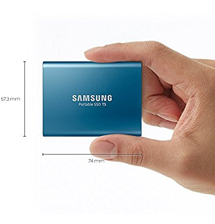Samsung T5 Portable SSD - 2TB. $737.99, 540mb/s transfer rate.