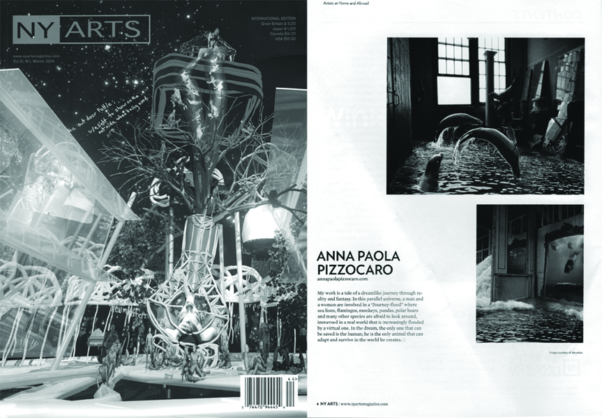 NY ARTS American National Magazine, Winter 2013