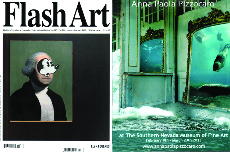 """Flash Art"" International Magazine Feb 2013"